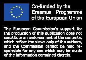 EU logo Erasmus+ disclaimer